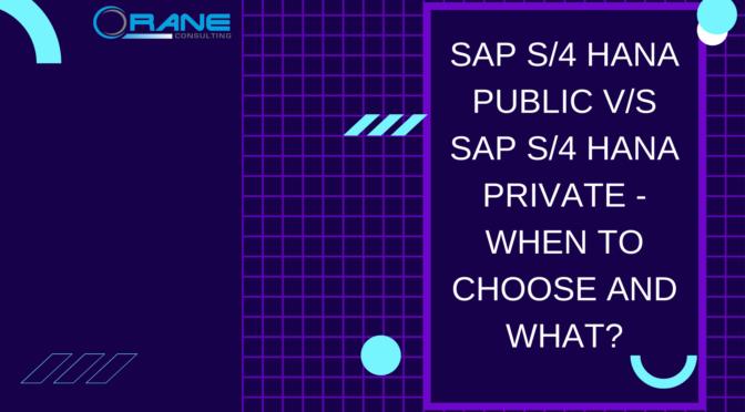 SAP S4 HANA Public VS SAP S4 HANA Private (1)