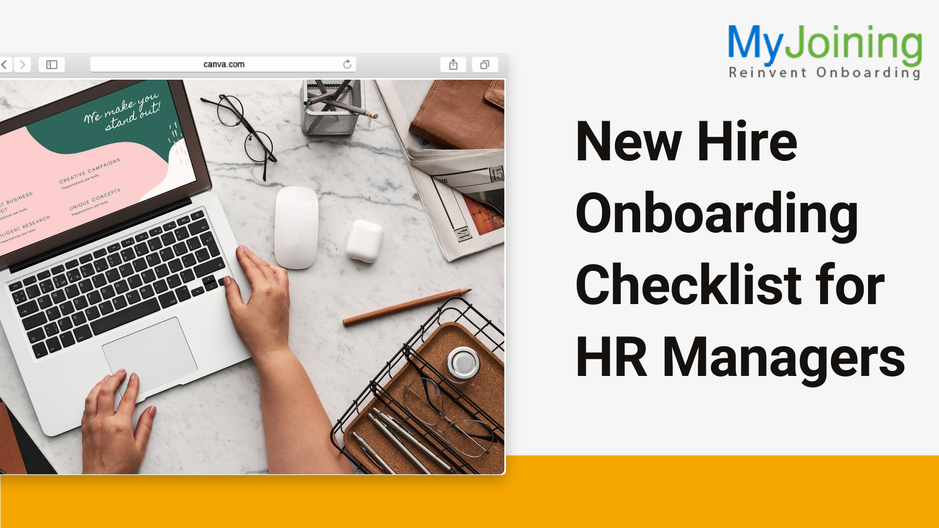 NewHire Onboarding Checklist for HR Managers