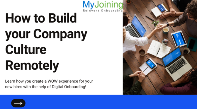 How to Build your Company Culture Remotely