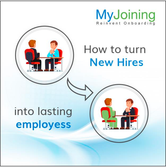 How to turn new hire into lasting employees